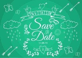 Save the Date Vectors