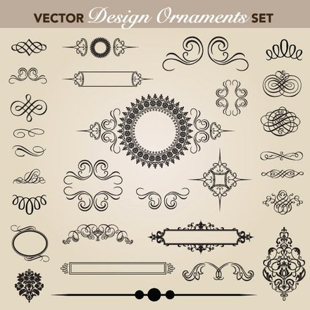 European pattern garland 05