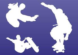 Skaters Silhouettes