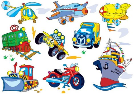 Cartoon transport 03