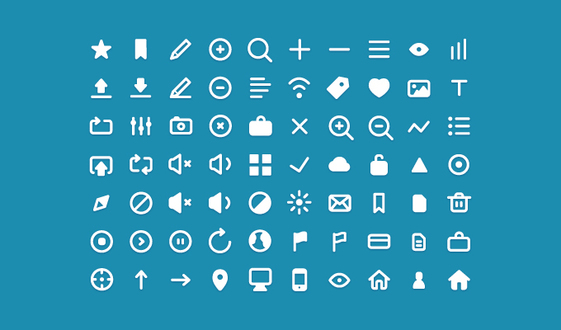 70 Clean Icons