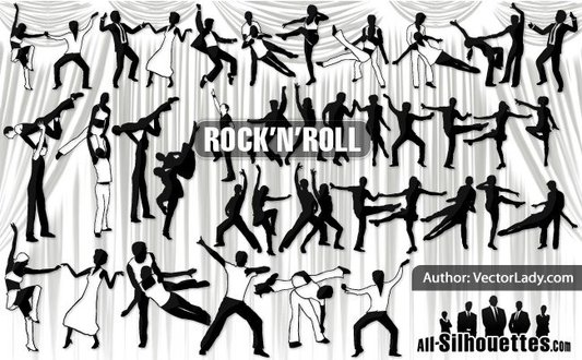 30 Rock and Roll Dancers