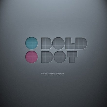Psd Soft Carbon Text Effect