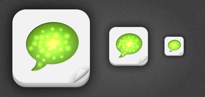 512px iPhone App Icon Template