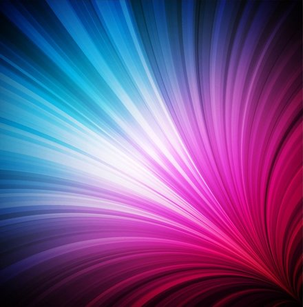 Abstract Colorful Light Vector Background (Free)