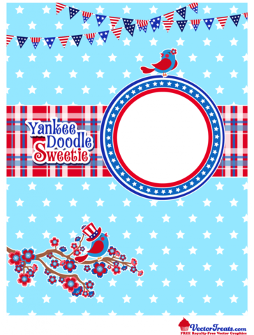 Free 4th of July Vector Graphics to Show Off Your Yankee Doodle Sweetie