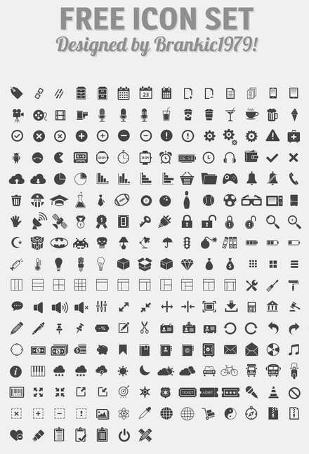 350 Vector Web Icons