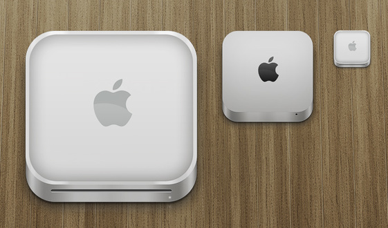 Apple Mac Mini Icons