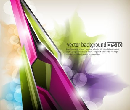 dynamic colorful abstract elements 02