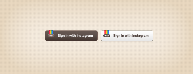 Instagram Sign-in Buttons