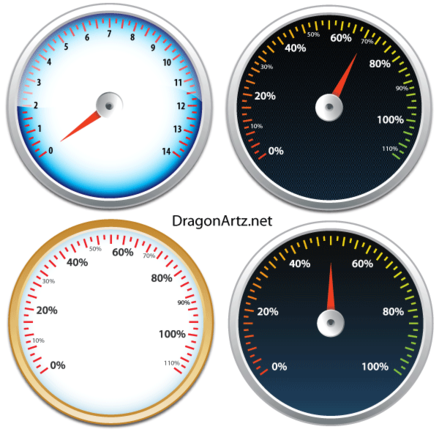 Tachometer Vector Free