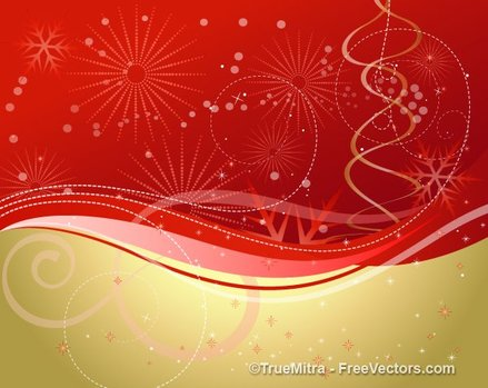 Abstract Festive Background