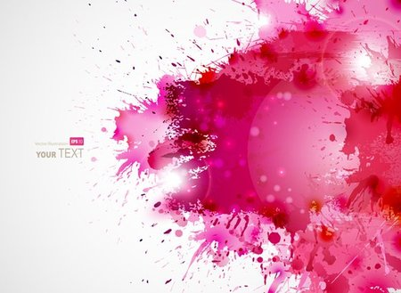 Vector Colorful Splash