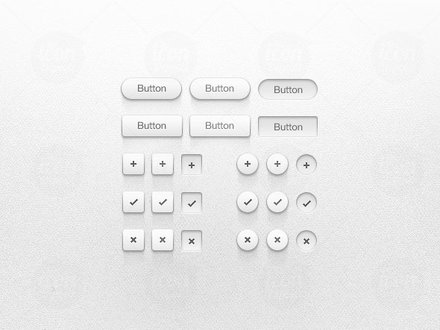 Light Button UI Kit