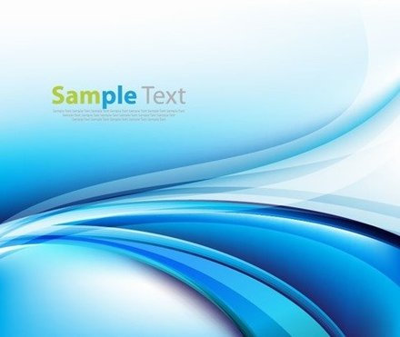 Blue Abstract Background Vector Editable Graphic