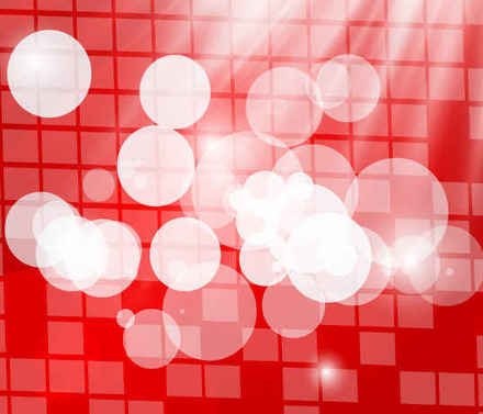 Bokhaa lumined red abstract