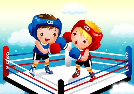 Children Boxing