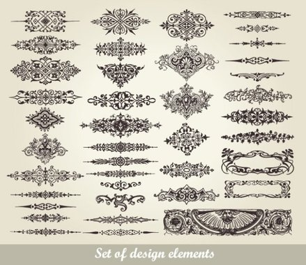 European pattern garland 02