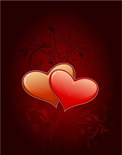 Free vector about sweet love valentine e cards