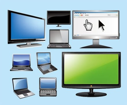 Notebook computers and LCD monitors