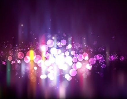 Blurry Light Purple Abstract Background