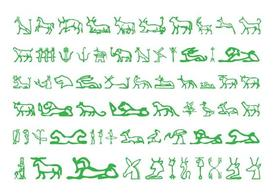 Egyptian Hieroglyphs Pack