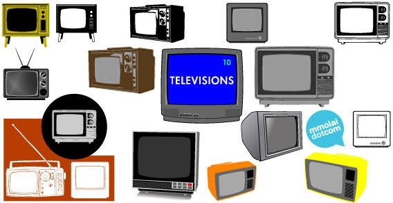 Television Vector Free