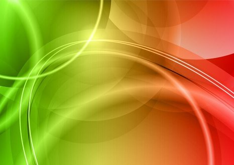 Colorful Halo Background