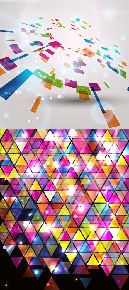 Colorful fashion background
