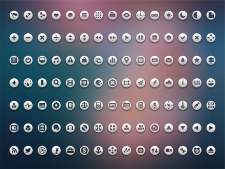 105 Loops Icon Set
