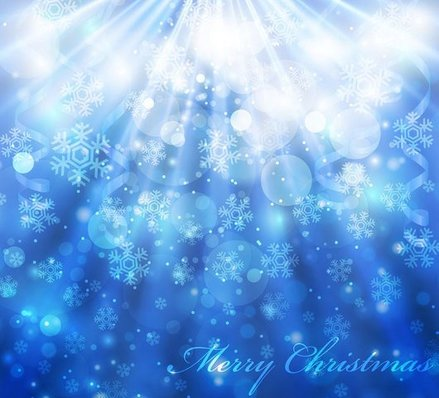 Free vector about free abstract winter background-3