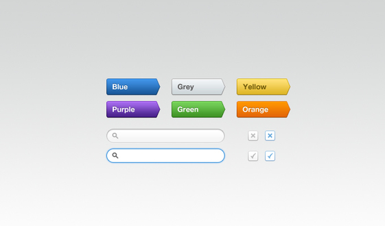 Multi-coloured Buttons