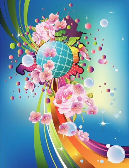 Pattern poster vector-4