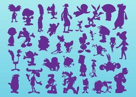 Cartoon Silhouettes