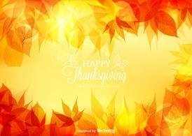 Free Vector Thanksgiving Bokeh Background