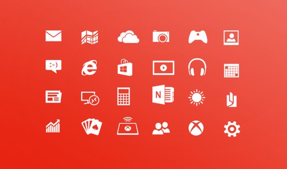 Windows 8 Metro Icons