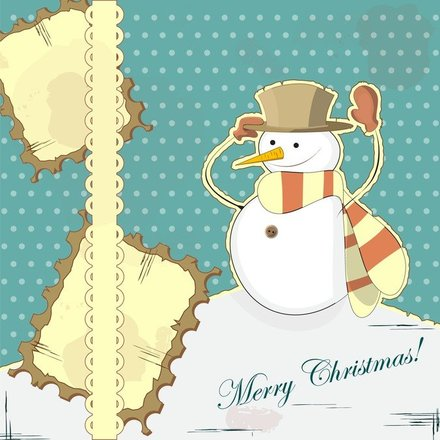 Snowman Decoration Painting 01