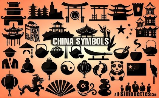 35 Vector china icons