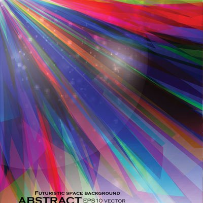 Futuristic colorful strip vector background03