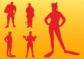 Sports Silhouettes Graphics