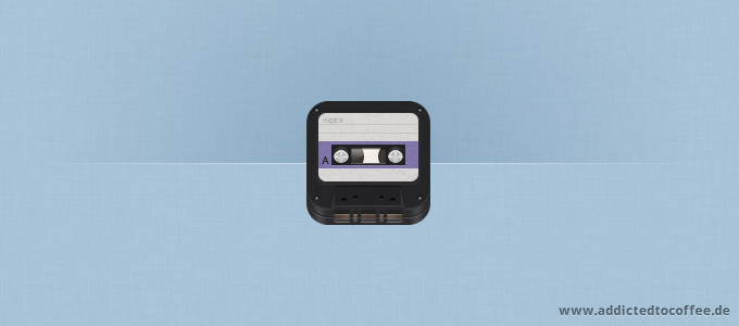 iOS Retro Cassette Icon