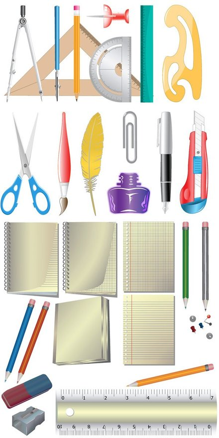 Office supplies Icon