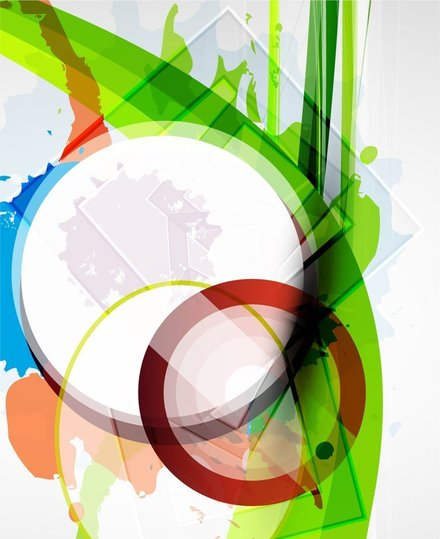 Color Ink Background