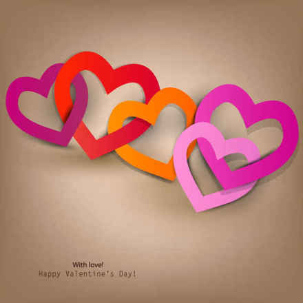Happy Valentine's Day Heart to Heart