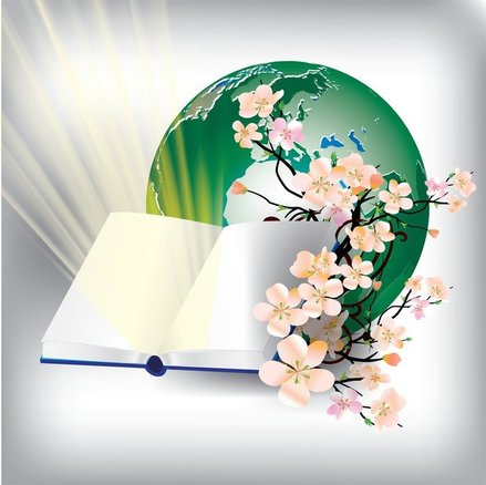 Notebook With The Earth