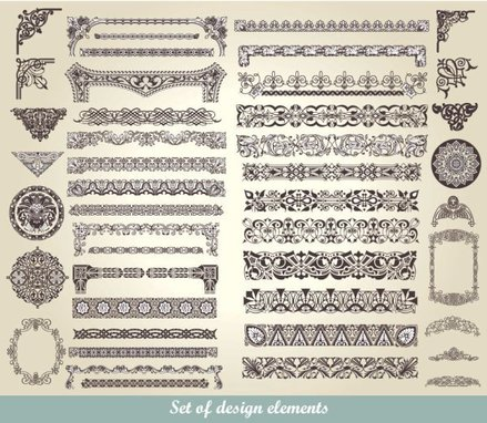 European classic lace pattern 01