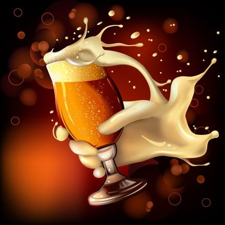 Cartoon Beer illustrator 1