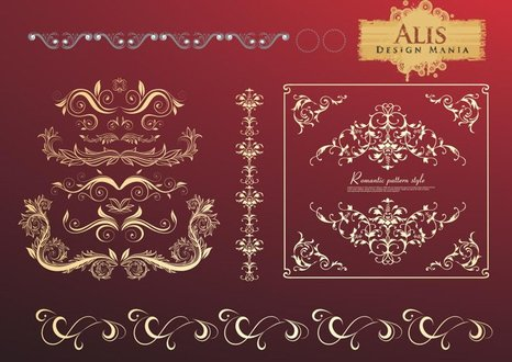Free Vector: Floral Ornaments