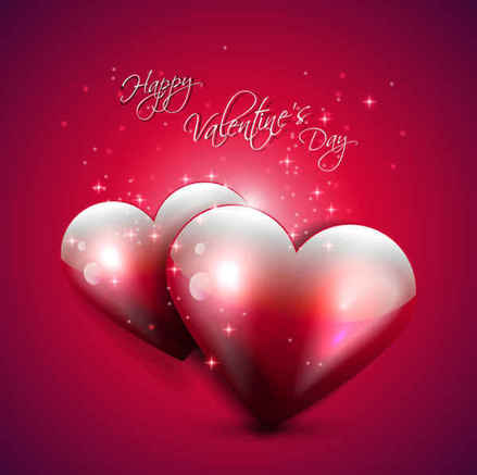 Happy Valentine's Day Red Backgrounds