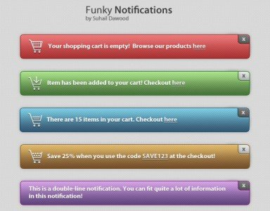 Funky Notifications